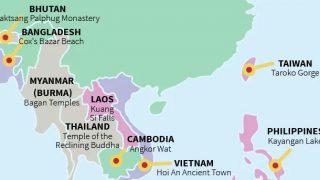 「世界各国の絶対に訪れるべき場所」タイはワット・ポー、日本は伏見稲荷大社