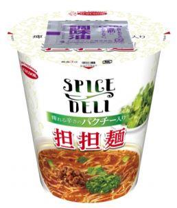 SPICE DELI 痺れる辛さのパクチー入り担担麺