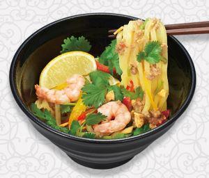 タイの汁なし麺バーミーヘン