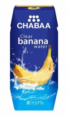CHABAA クリアバナナウォーター