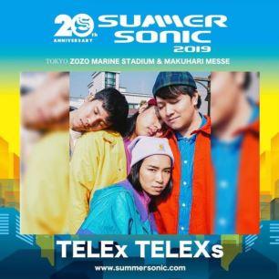 TELEx TELEXs JAPAN TOUR 2019