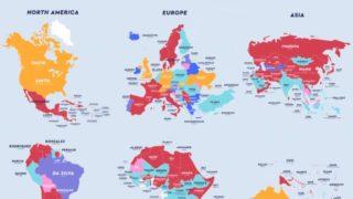 世界各国の最も多い苗字は?日本は佐藤さん、タイはแซ่ตั้งさん、世界一は?