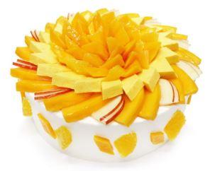 メキシコ産「アップルマンゴー」のショートケーキ