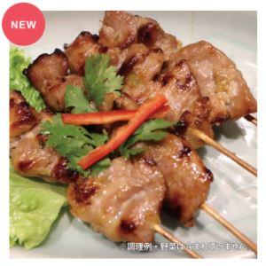 ■「ムーピン(豚肉の串焼き)」 780円(税込)
