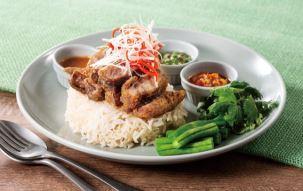 牛肉のカオマンガイ
