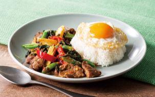 牛肉のガパオ 1,190円(税込)