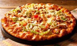 ケバブ風ピザ